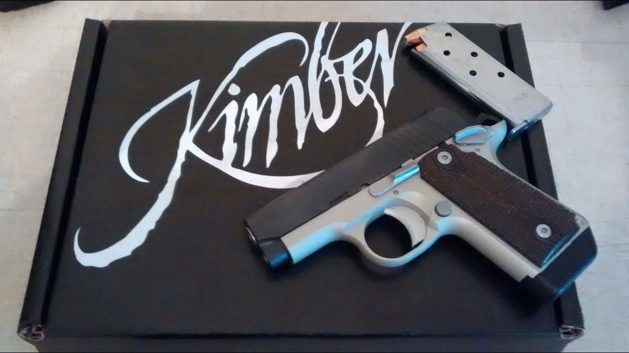 Kimber Micro Carry  380 - Total impulse buy!