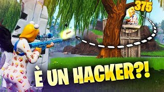 Guardate cosa fachada... E' un HACKER?! Fortnite Battle Royale ITA!