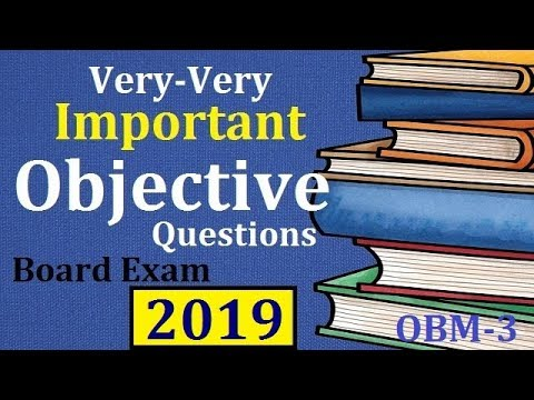 vvi objective questions for board exam 2019! Physics important objective questions ! Online exam
