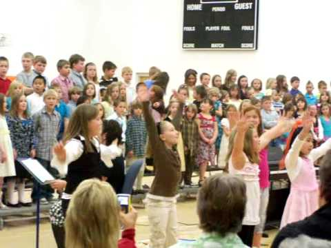 """Owensville Elementary School Spring concert video  """"Bright, Sunny Day"""""""