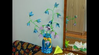 2 идеи Как сделать цветы из яичных лотков