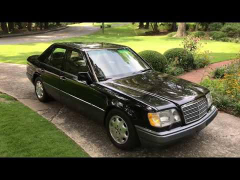 1995 Mercedes Benz E300 Diesel 0-60 Owner Review Pov Test Drive Walkaround OM606 Inline 6 PLEASE SUB