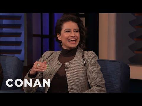 "Ilana Glazer Grew Up Watching Conan On ""Late Night"" - CONAN on TBS"
