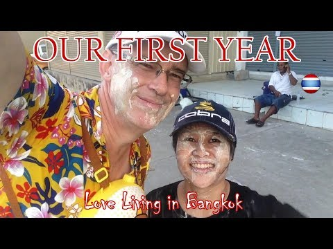 YouTube Our First Year Bangkok Thailand