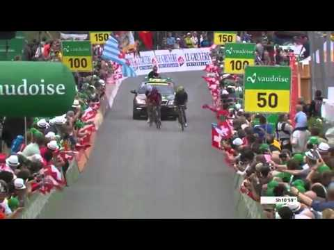 Rui Costa Wins Stage 7 At Tour De Suisse 2013 (last 18 km) HD