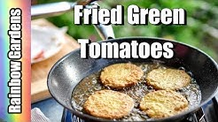 Southern Fried Green Tomatoes Recipe - Crispy, NOT Greasy! How to Make