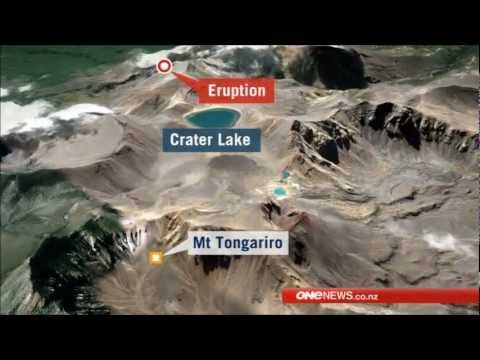 First Eruption In 100 Years New Zealands Mount Tongariro Volcano Awakens/Erupts Without Warning
