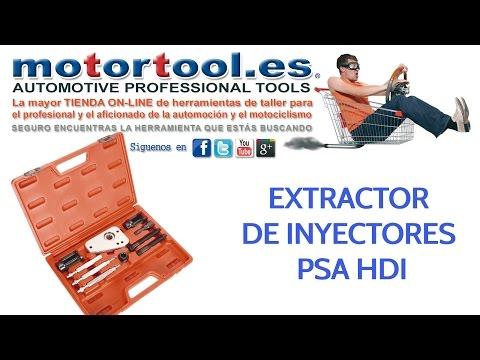 Extractor de inyectores PSA HDi