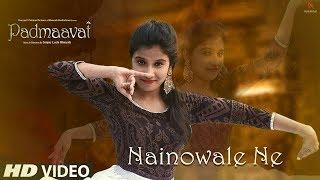 Nainowale ne dance choreography|PADMAVAT|Inspired by NEELAM PATEL