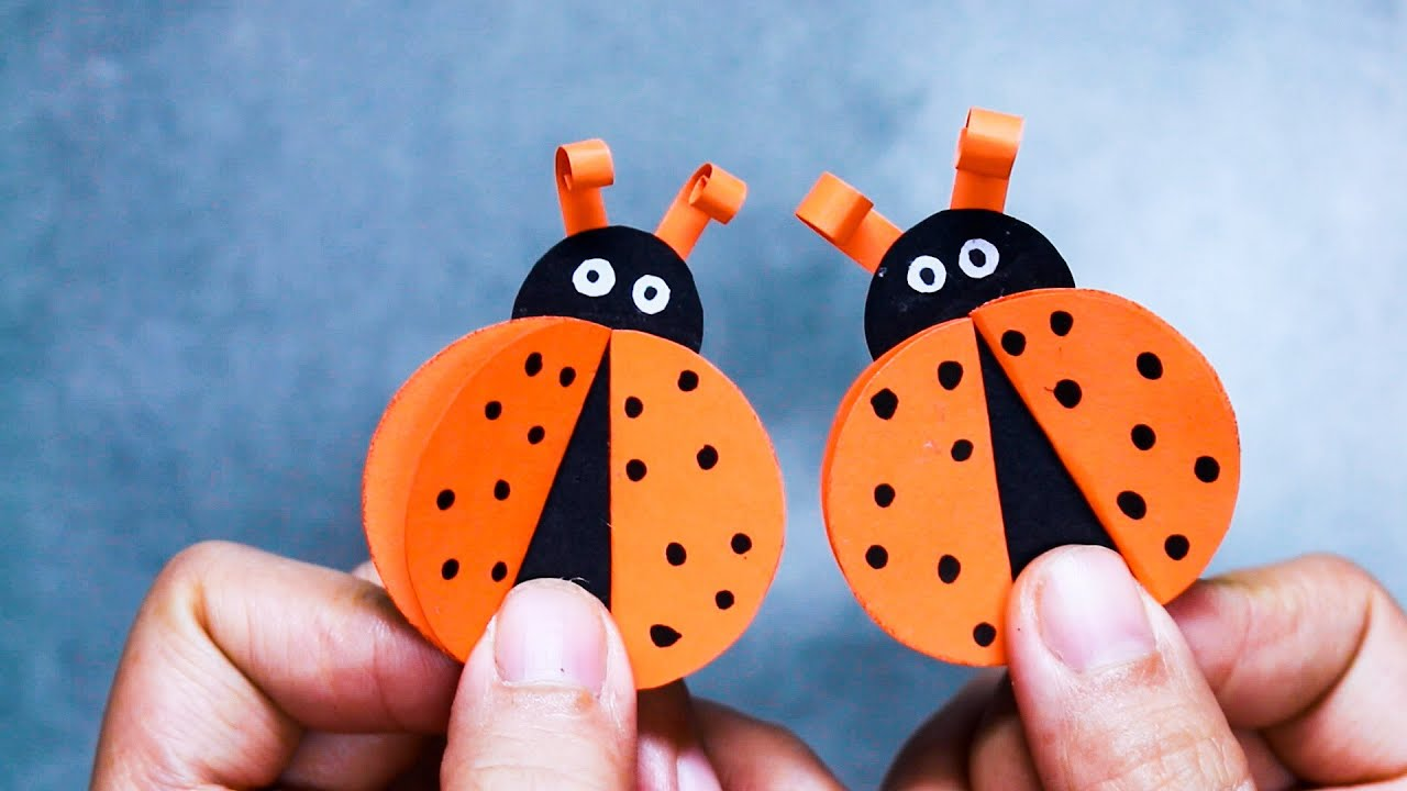 Download 10 FUN PAPER CRAFTS FOR KIDS