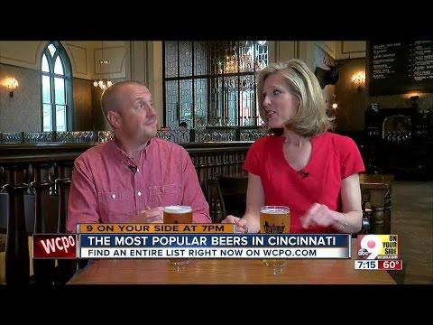 The most popular beers in Cincinnati