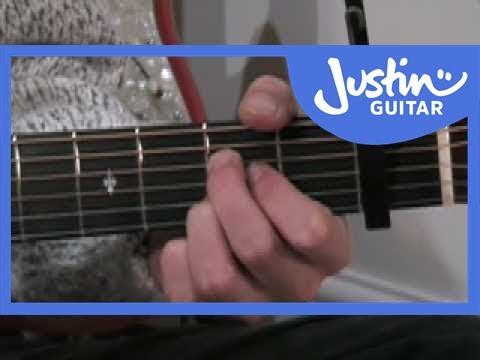 Sugarland, Stuck like Glue, Tutorial, guitar, gitarre, how to play ...