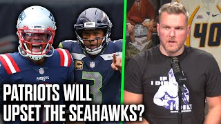 "Pat McAfee ""The Patriots Will Beat The Seahawks In Week 2"""