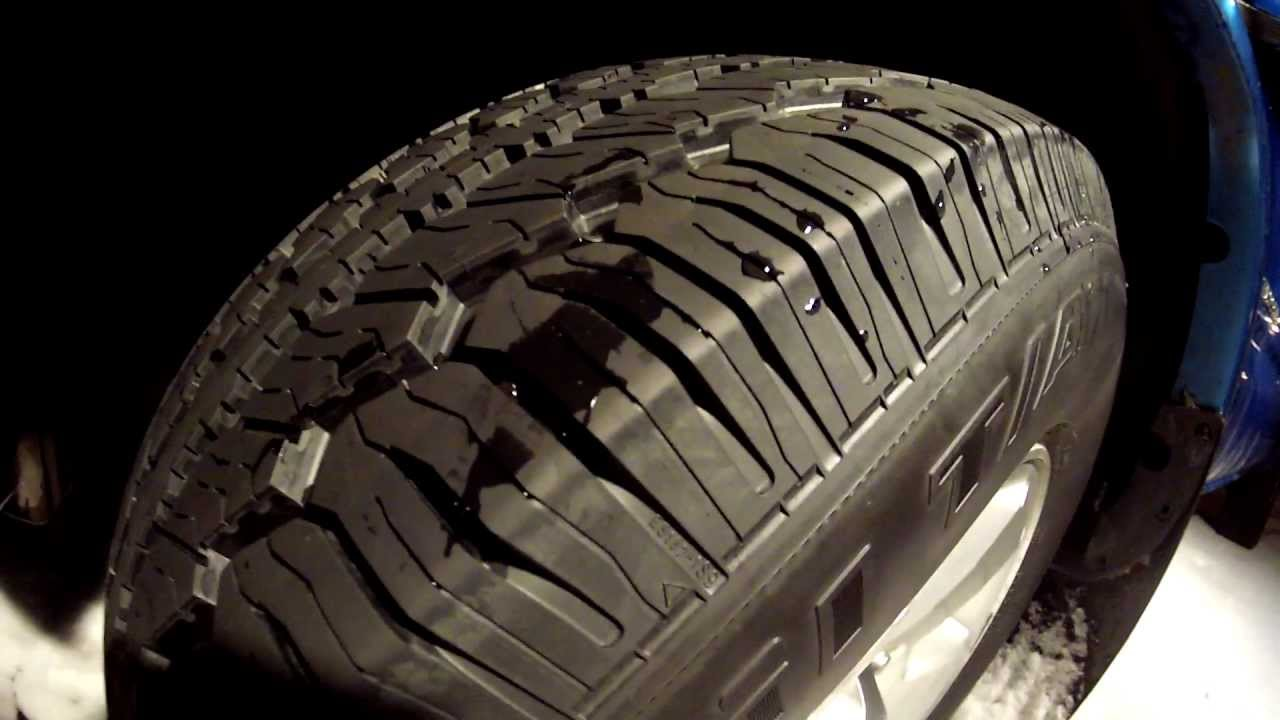 Bfgoodrich Radial Long Trail T A 17in Tires Youtube