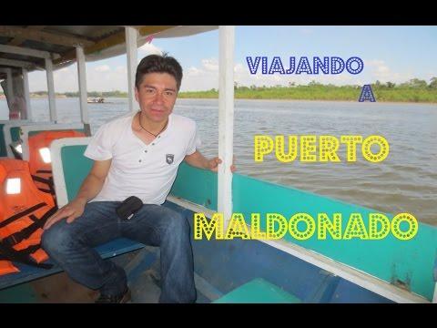 Conociendo El Peru - Puerto Maldonado  - Con Luis lovon