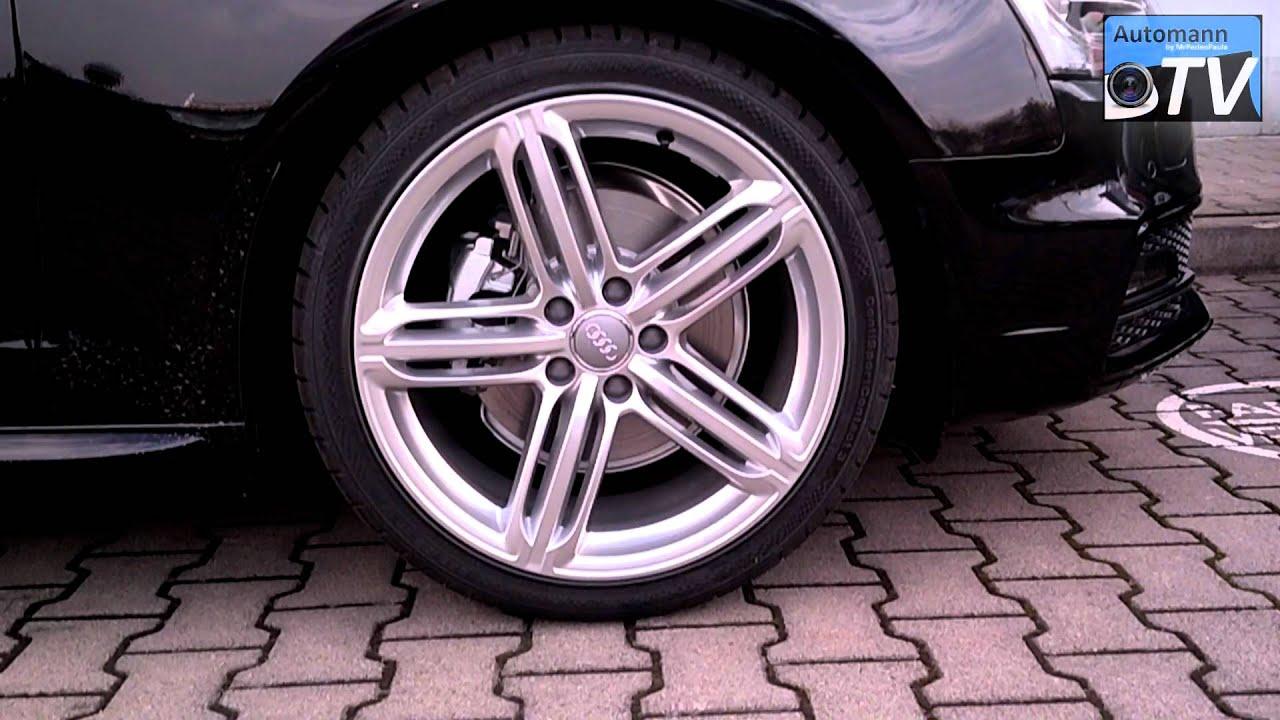 2013 Audi A4 S Line Facelift Black Amp White 1080p Full Hd