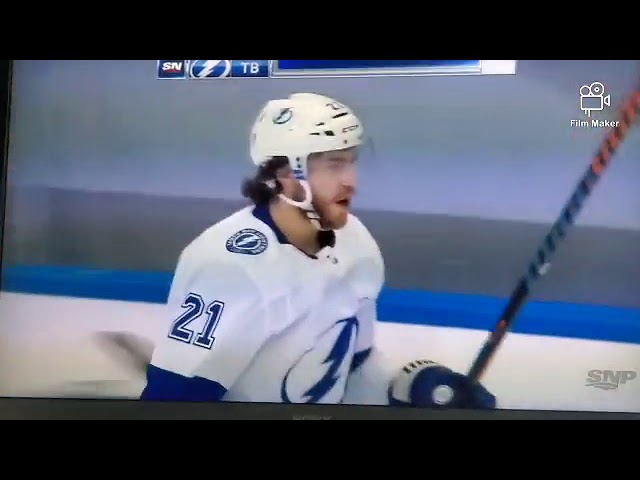 Torey Krug Tyler Johnson Fight As Brauden Point Scores Funny Moment Game 3 Lightning Vs Bruins Youtube