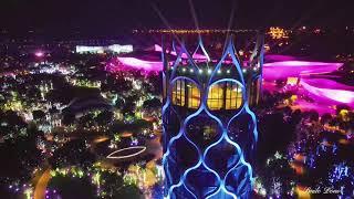 Night Scene of Ocean Flower Island 海花岛 夜景 4K Hainan China