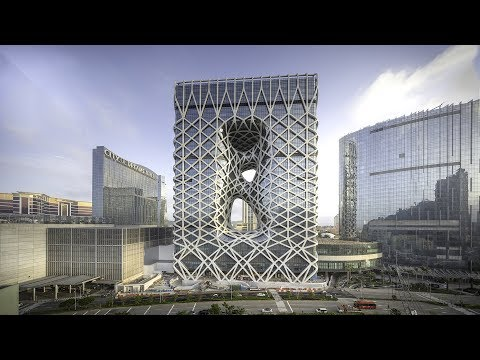 Zaha Hadid Architects' sculptural Morpheus hotel opens in Macau