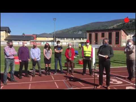 O Barco acogió a los jóvenes atletas gallegos