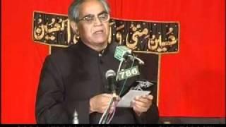 Iftikhar Arif Poetry on Azadari and Karbala