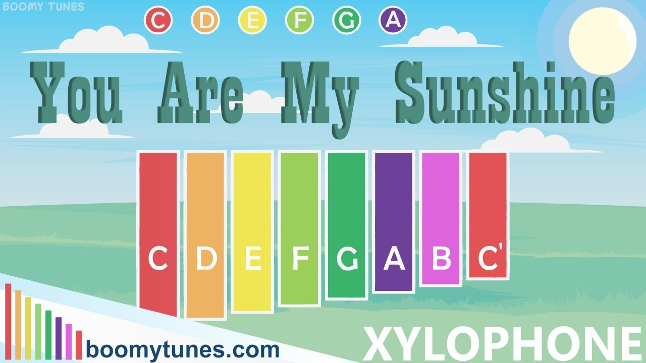 You are my Sunshine   XYLOPHONE Play Along