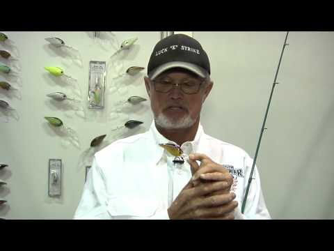 Luck-E-Strike Smoothie Deep Diving Crankbaits With Rick Clunn ICAST 2012