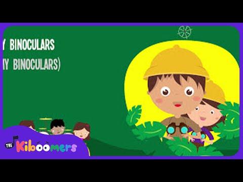We're Going on a Bear Hunt | Song Lyrics Video | Preschool Songs | The Kiboomers