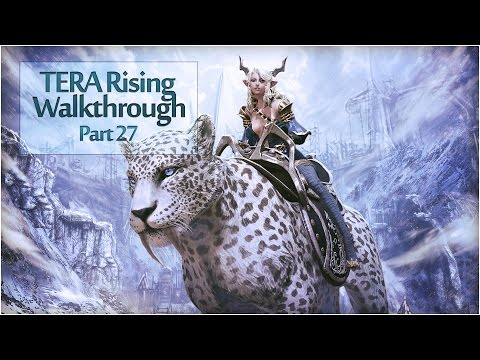 TERA Rising Walkthrough | Part 27 - Tenebrous Mines