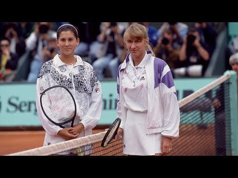 When Tennis Turns Into WAR! (Steffi Graf VS Monica Seles ) | The GOLDEN ERA Of Women's Tennis