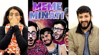 MEME MINATI - THE ULTIMATE CARRYMINATI | REACTION