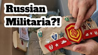 We Found Russian Militaria Hidden Inside A Tub! How Did He Get This?