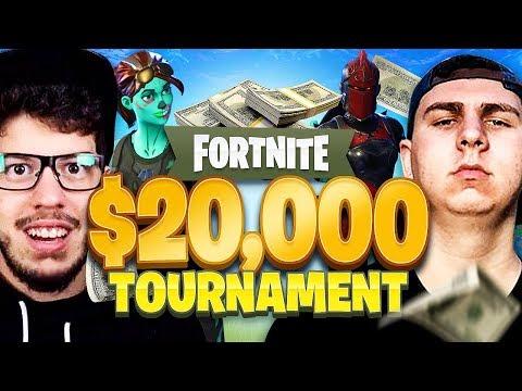 Fortnite YouTuber Tournament for $20,000! (FINALS: Typical Gamer & Thiefs vs Myth & Hamlinz)