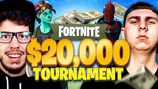 Fortnite YouTuber Tournament for $20,000! (FINALS: Typical Gamer & Thiefs vs Myth & Hamlinz)