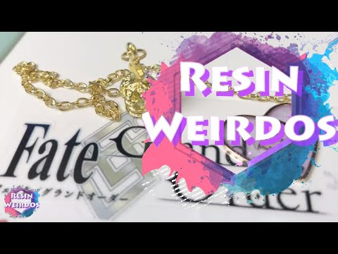 Watch Me Resin - Resin Fate Grand Order Bookmark - Resin Charms - Ideas