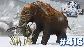 The Mega Mastodon MAXED! || Jurassic World - The Game - Ep416 HD