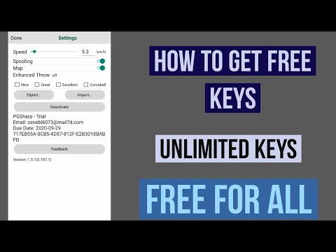 How To Get Unlimited PgSharp Key For Free