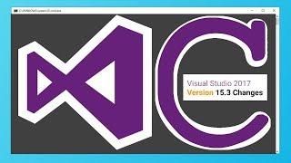 How to create C programs using latest Visual Studio 2017 version 15.3+