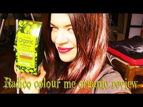 Radico Colour Me Organic REVIEW!!!(Rotblonde/Biondo Rosso)