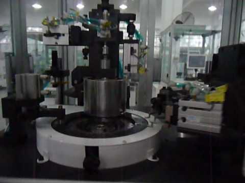 Three needles Brushless stator winding machine WIND 3 TSM  Shanghai Wind Automation