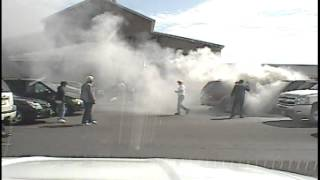 uniontown police sgt batchik drags unconscious man from burning car september 2014