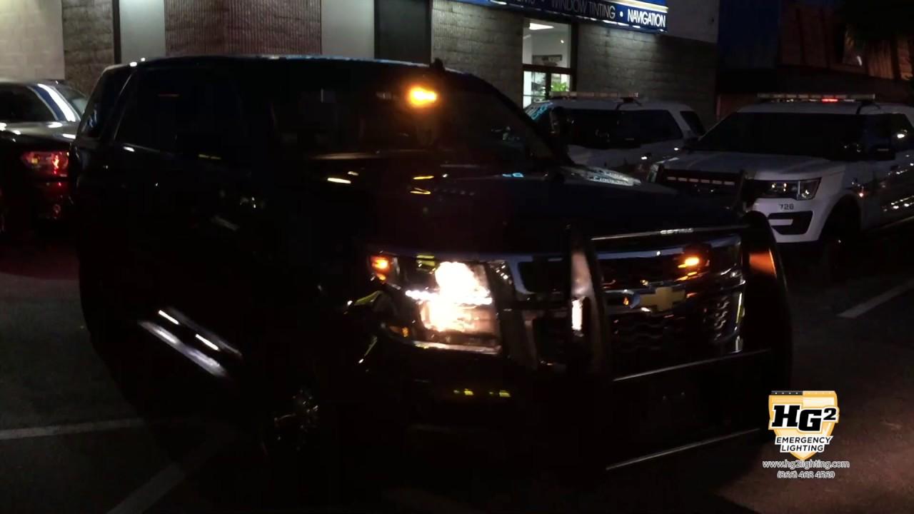 HG2 Emergency Lighting  Chevy Suburban AmberWhite