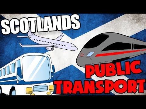 SCOTLAND PUBLIC TRANSPORT!!