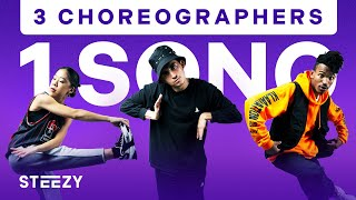 3 Dancers Choreograph To The Same Song – Feat. Jason Rodelo, Taryn Cheng, and Dom Johnson