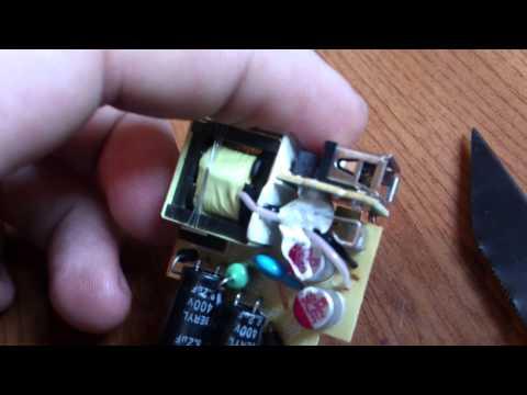 Разборка Зарядного устройства Sony EP880