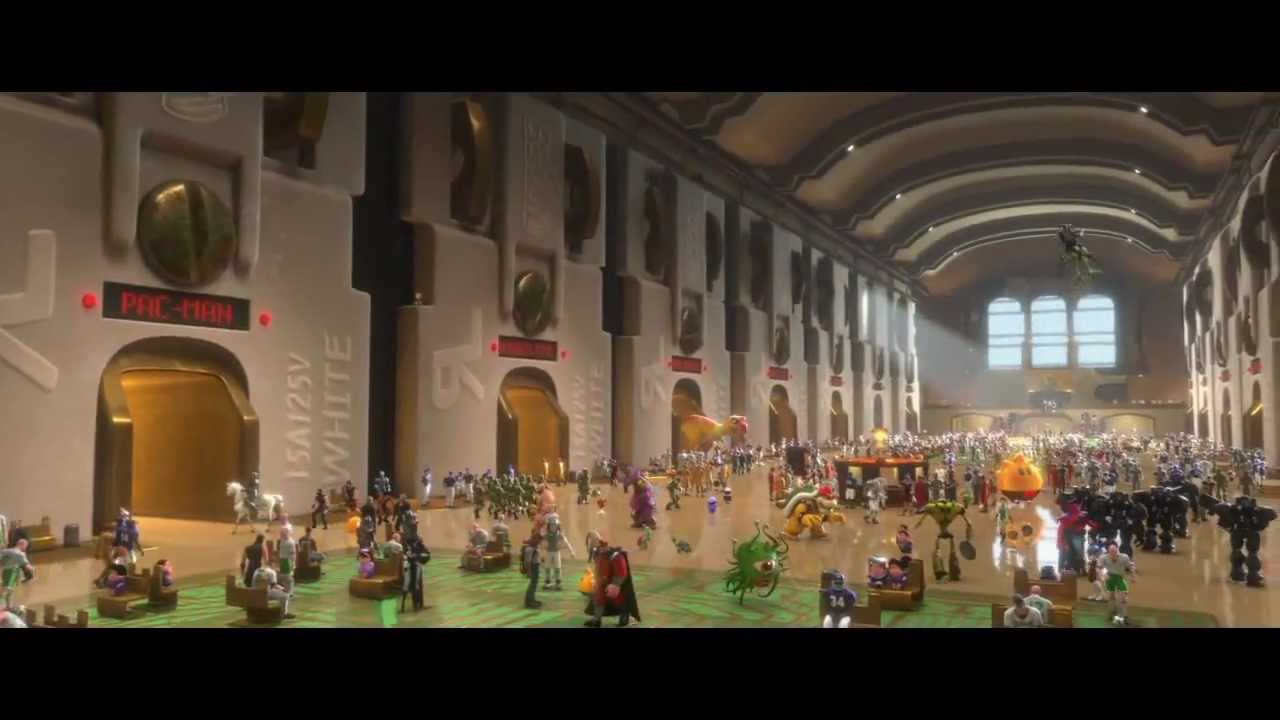 Wreck It Ralph - Offiical Movie Trailer [HD] 2012 - YouTube
