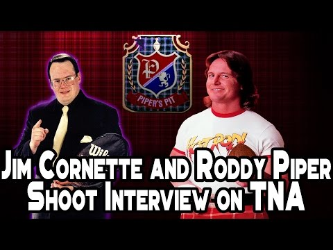 Jim Cornette and Roddy Piper Shoot Interview on TNA