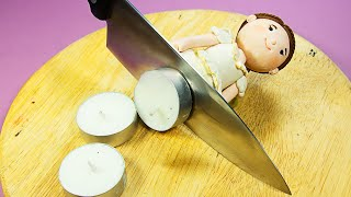 Stop Motion Cooking - Making Beef Wellington From Wedding Items ASMR 4K