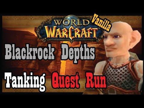 Tanking Vanilla Blackrock Depths (Quest Run) [Vanilla / Classic World of Warcraft Let's Play]