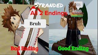 ROBLOX Stranded Tutti e 2 i finali